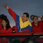 Presidente Chávez, Robert Serra y Cilia Flores