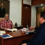 Fidel y Chávez