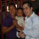 Robert Serra en junta parroquial de San Juan
