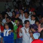 Disfrutando del grupo de Samba