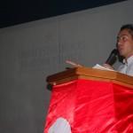 Dip Robert Serra explicando la metodología de la actividad